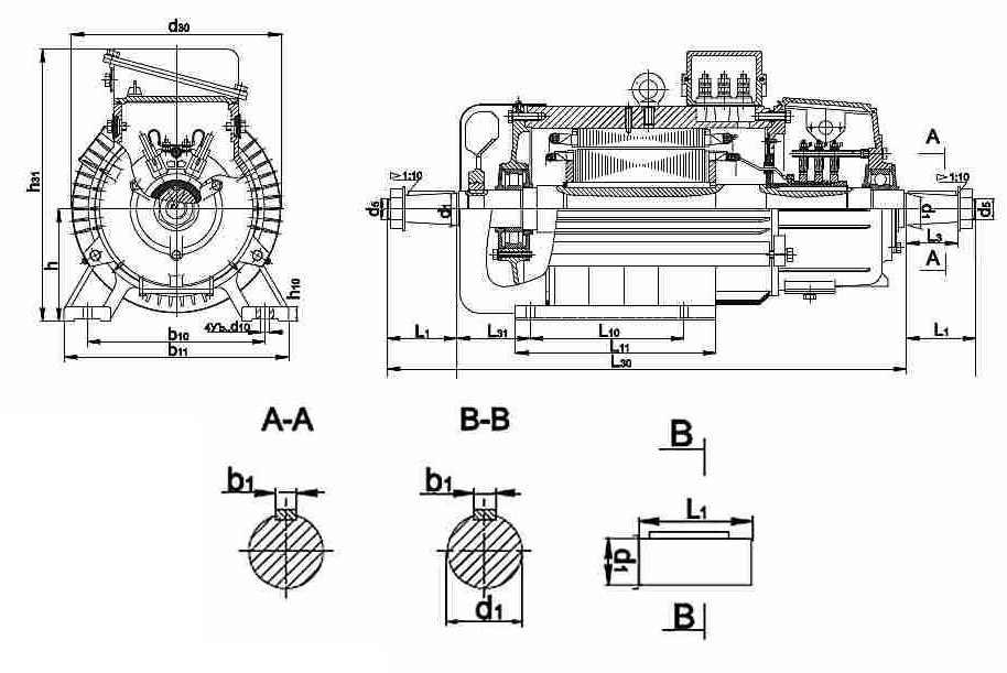 kranovye1 Электродвигатель МТН