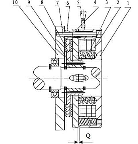Тормоз для электродвигателя